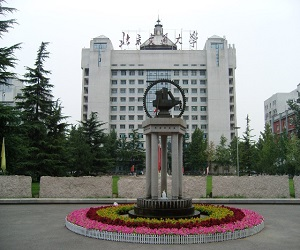 北京交通大學校園美景
