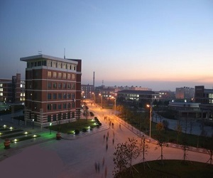 河南理工大学校园美景