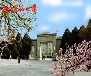 西北师范大学校园美景