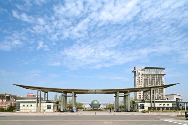 南京财经大学校园美景